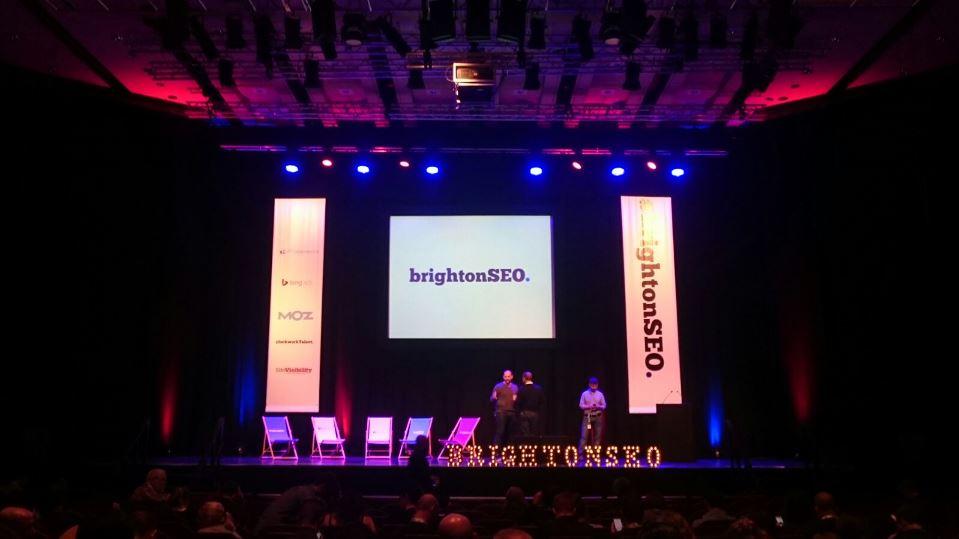 BrightonSEO Stage