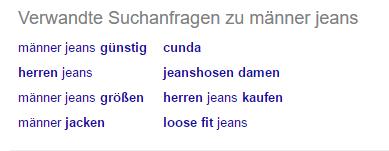 Aehnliche-Suchanfragen-Google
