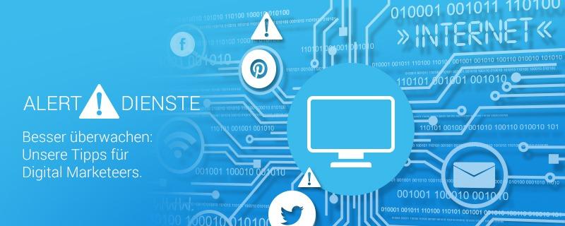 Alert Dienste Blog Header