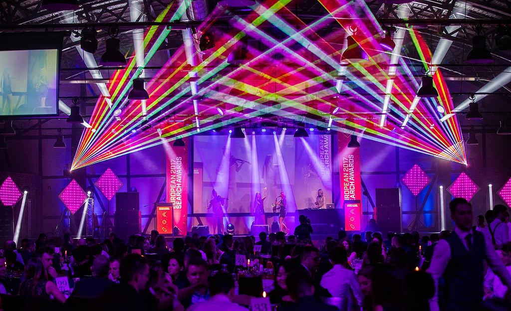 Musikalische Showeinlage an den European Search Awards 2017