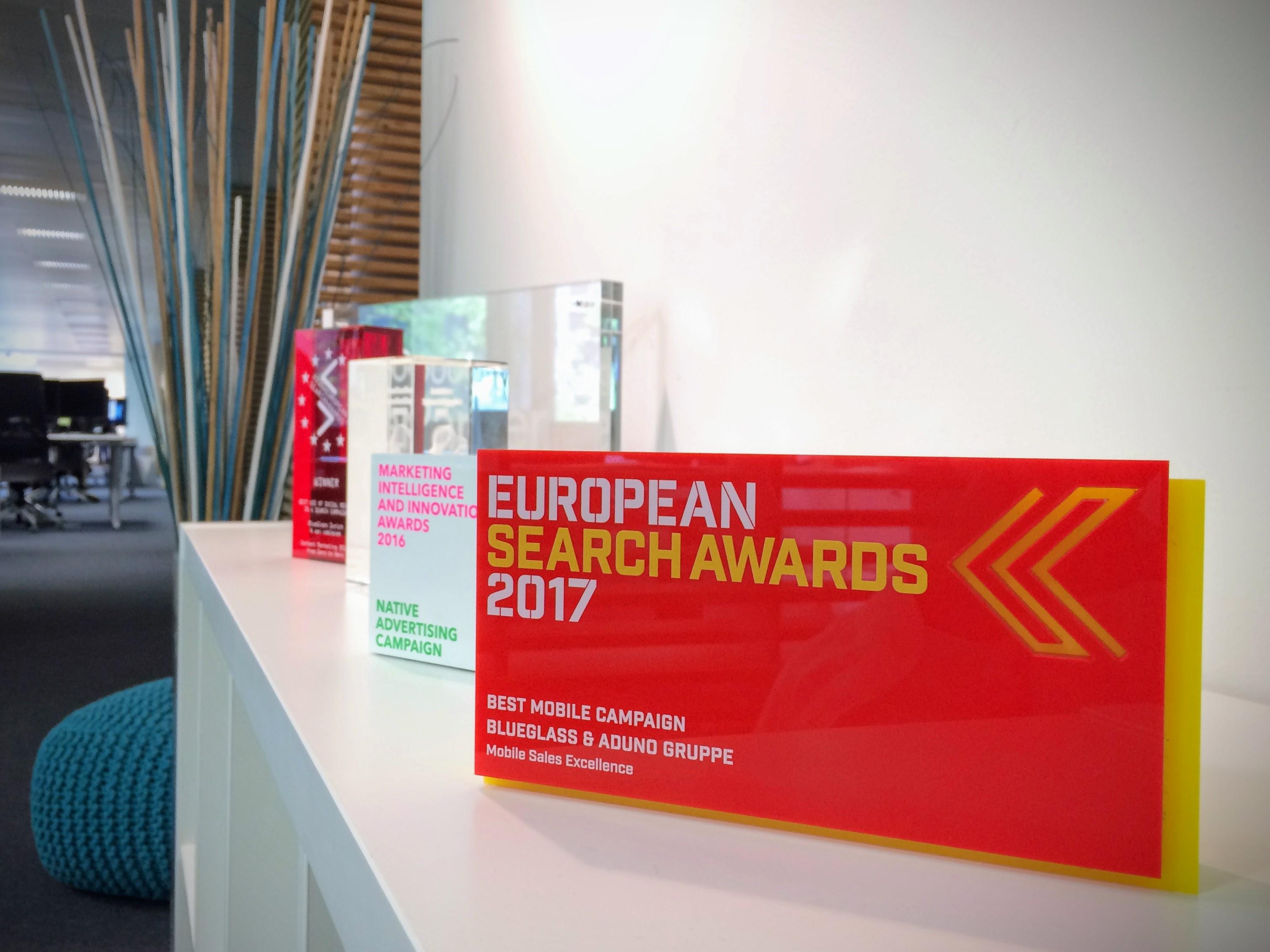 European Search Award 2017 Palmarés