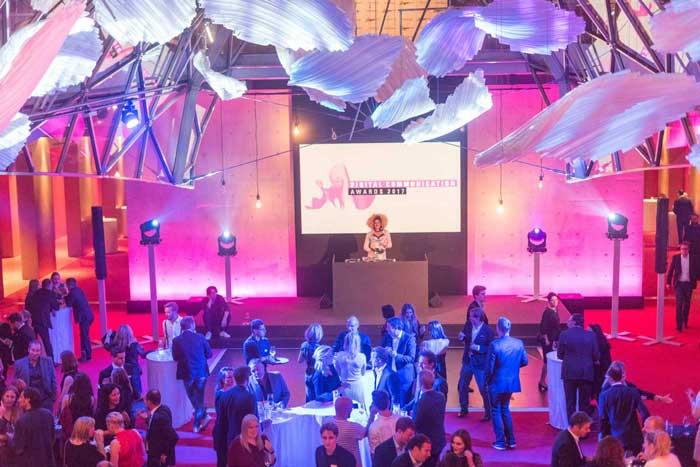 DJ der Digital Communication Awards 2017 in Berlin