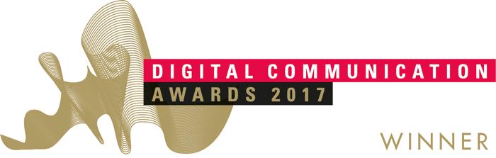 Digital Communication Award Gewinnerlogo 2017