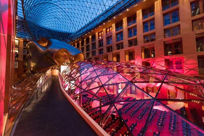 Award-Location AXICA Festhalle am Pariser Platz in Berlin