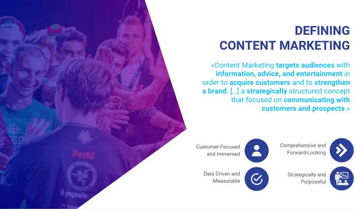 Content Marketing von BlueGlass im Einsatz für eSports von UPC