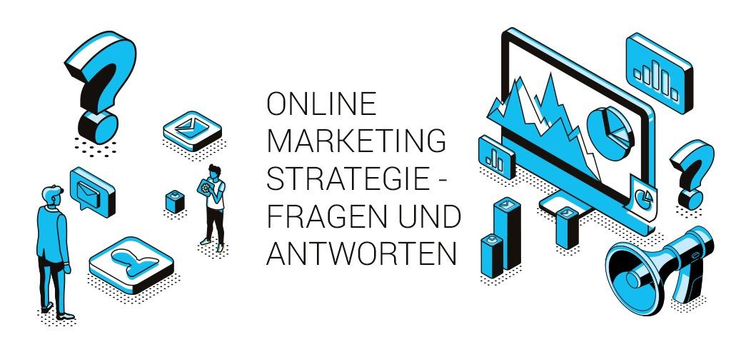 Illustration des Blogartikels über Online Marketing Strategie