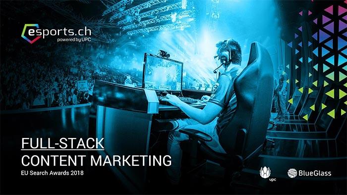 Fallstudie über das Influencer Content-Marketing von UPC / eSports