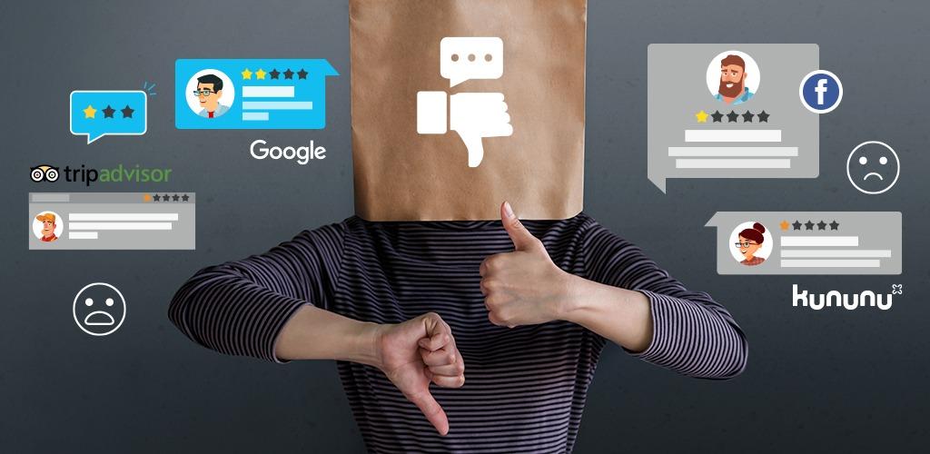 Tipps im Umgang mit negativen Bewertungen auf Google, Tripadvisor & co.